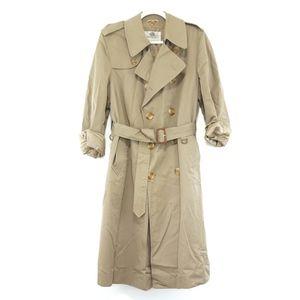 Men's Aquascutum of London Tan Trench Coat